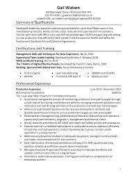Gail Watson's Resume Mesmerizing Linkedin Url On Resume