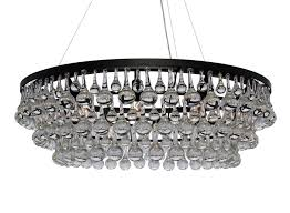 celeste dark antique bronze glass drop crystal chandelier light up my home lightupmyhome com