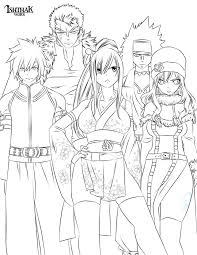 Small Picture Fairy tail coloring pages anime ColoringStar
