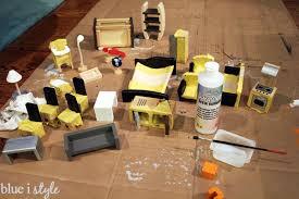 kids dollhouse furniture. Paint Wood Dollhouse Furniture Kids