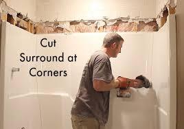 cut surround at corners