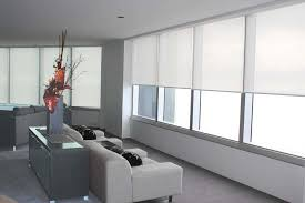 Motorized Roller Shades Allow Privacy When You Want It Hidden Window Blinds