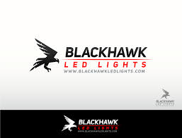 Blackhawk Led Lights Logo Design For Blackhawk Led Lights By Dynamo Graphics
