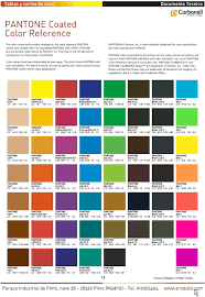 C Color Chart Pantone Coated Color Reference Pdf Free Download