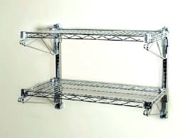rubbermaid metal shelving wire garage full image for wall mounted shelves systems how to install