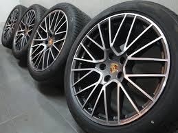 Porsche 20 Rs Spyder Design Wheels Details About 21 Inches Original Summer Wheels Porsche Cayenne E3 Rs Spyder 9y Design Zlc3