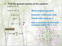 find the general solution of the equation