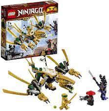 LEGO 70666 NINJAGO Golden Dragon with action figures - Markenwelt Voegele