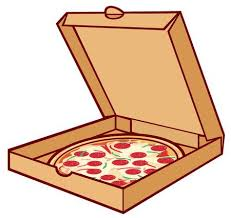 pizza box clipart. Contemporary Box Pizza On Cardboard In Box Open Packing Box For On Pizza Box Clipart 123RFcom