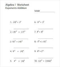 collection of math worksheets for 9th grade algebra 1 them and try to solve 2