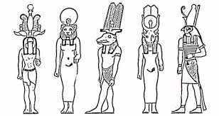 Egyptische Goden Kleurplaat Gratis Kleurplaten Printen