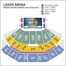 First Direct Arena Seating Chart Up To Date Leeds Arena Seating Plan Rows 2019