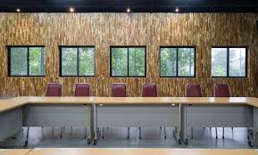 office track lighting. Conference Room With Wooden Walls And Track Lighting Office