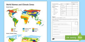 World Climate Zone Chart Climates Around The World Powerpoint Climates Climates