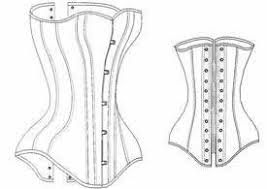 Corset Pattern Enchanting Amazon 4848 Late Victorian Corset Pattern