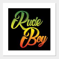 Rude Boy Jamaican Rasta Reggae Fans Gift