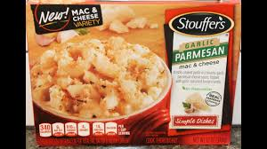 stouffer s garlic parmesan mac cheese review