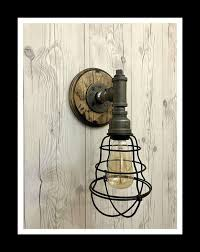 industrial cage wall light wall lights