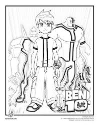 Small Picture Simple Way To Color Ben 10 Coloring Pages Toyolaenergycom