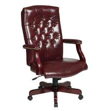modern wood desk chair. Exellent Modern Traditional Executive Chair With Padded Arms And Modern Wood Desk M