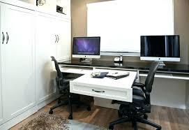 dual desks home office dual office desk large size of dual office desk  black curved computer