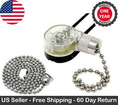 ze 109 pull chain ceiling fan light