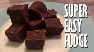 fudge recipe with sweetened condensed milk the microwave so easy and fast you