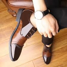 men fashion oxford business men shoes pu leather quality soft dress shoes breathable mens flats office