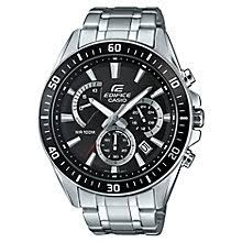 casio watches edifice g shock solar digital h samuel casio edifice men s black dial stainless steel watch product number 4575458