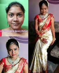 gouri s bridal beauty parlour traditional indian wedding makeup and styling