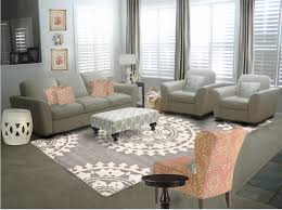 elegant gray living room decorating ideas and with ivory sofas as furniture living sets added gray graphic carpets in beautiful living room designs