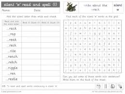 Choose the word that has a particular sound. Silent W Phonics Worksheets And Games Galactic Phonics
