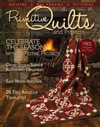 118 best Primitive Quilts and Projects images on Pinterest ... & A beautiful magazine dedicated to the primitive artisan. From quilt  patterns to wool applique.original, full patterns in each quarterly issue. Adamdwight.com