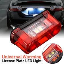 <b>2Pcs</b> 12v/24v Waterproof Car Truck Rear <b>Tail</b> Light Warning Light ...