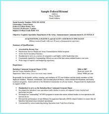 Veteran Resume Samples Fillable Federal Resume Template Resume Resume Examples