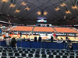 Carrier Dome Basketball Seating Chart Rows Carrier Dome Section 109 Row A Seat 109 Syracuse Orange