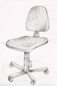 office chair drawing. Wonderful Office Drawing  Office Chair By Dan Comaniciu For T