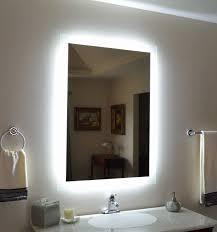 lighted vanity mirrors for bathroom stunning awesome best light bulbs for bathroom vanity lovely nowodvorski rod