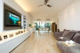 wall mounted tvs and shelves