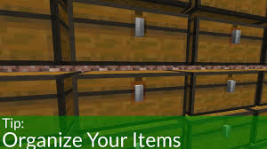 Minecraft Chest Organization Chart How To Organize Your Items In Minecraft