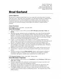 Career Goals Examples For Resumes Jianbochen Resume Objective At For