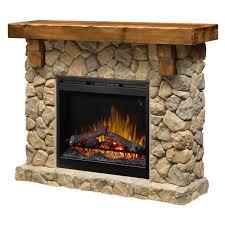 home fieldstone mantel electric fireplace model gds26l5 904st
