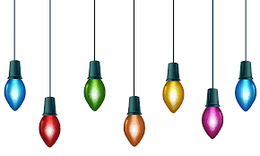 Christmas Light Bulb Png Transparent Rr Collections