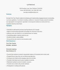 First Job Resume Examples Best Of 16 New Job Resume Examples