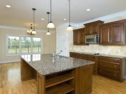 granite countertop designs remodeled kitchen idea with wood storage and dark brown granite design granite countertop ideas and backsplash