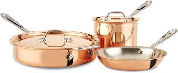 Copper Kitchen Decorations Decor Tips Cookware Ideas For Kitchen Decor With All Clad