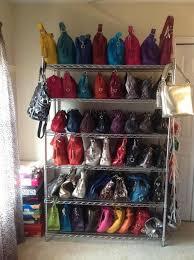 22 best closets images on handbag storage ideas