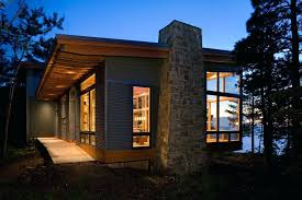 cabin plans modern small lake cabin plans exterior modern with cabin ocean view overhang house plans modern cabin