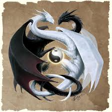 картинки по запросу инь янь дракон тигр Dragons Of The Thousands