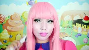 adventure time princess bubblegum makeup tutorial